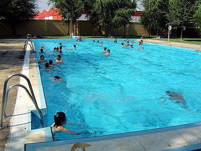 Apertura da piscina